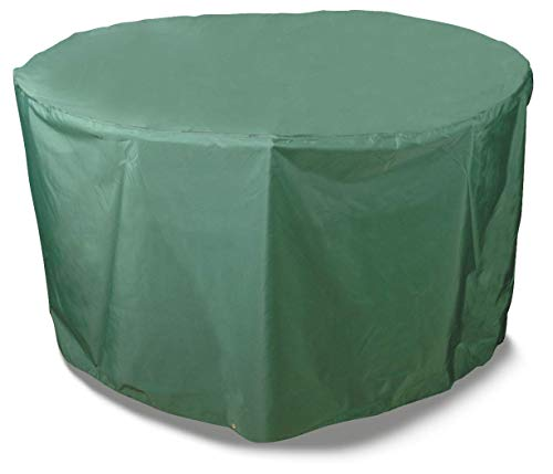 Bosmere Protector 6000 Dark Green 6-8 Seat Circular Patio Set Cover - Green, C523