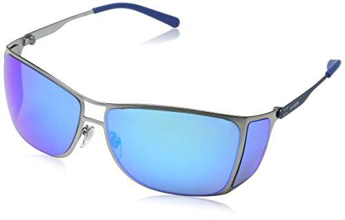 Arnette 0AN3072 502/25 62 Gafas de Sol, Gris (Brushed Gunmetal/Greenmirrorlightbluee), Unisex-Adulto