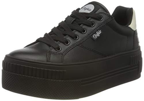 Buffalo Damen PLAIRED PL Sneaker, Black, 38 EU