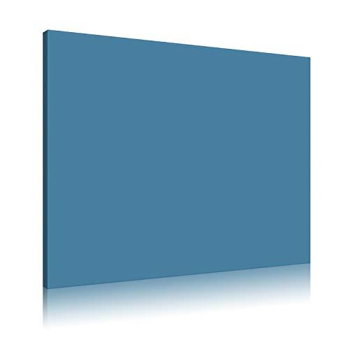 Akustikbild AbsorPic Stoff Farbe Blau   Premium Schall Absorber verbessert die Raumakustik   Viele Größen und Farben   60 x 120 x 3cm   Made in GERMANY, Köln