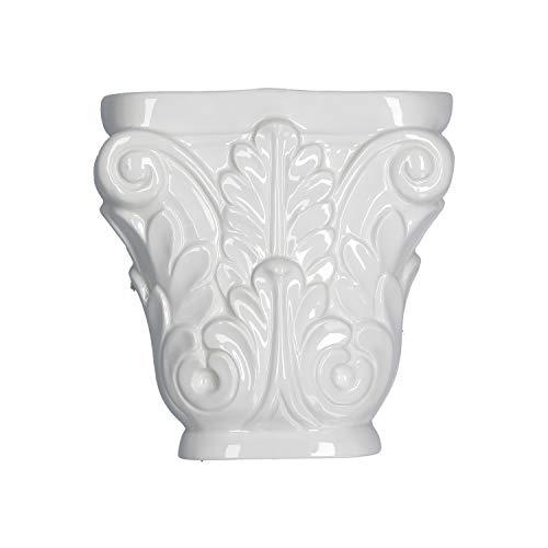 LA PORCELANA BIANCA LEOPOLDINA humidificador porcelana capital 16x16x5cm P600100023