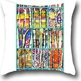 Goling BBay art tree Cooling Pillow with Soft Cover Cushion Cover London Cross 1818