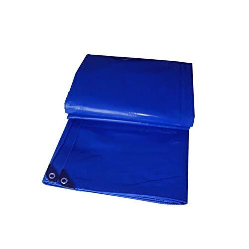 Dall bâche Bâche Imperméable Bâche Tarp Sol Couvertures en Tôle Tente Abri Heavy Duty Renforcé De Plein Air Bleu 580G / M² 2 * 3m