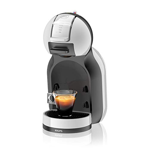 Krups Nescafé Dolce Gusto Mini Me KP123BK Macchina per Caffè Espresso e Altre Bevande, Automatica, Grigio/Nero