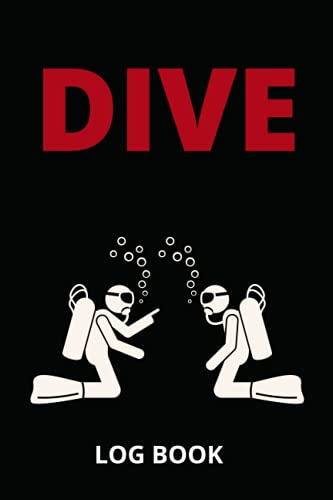 DIVE LOG BOOK: SCUBA DIVING 115 pages, 6'x9', for all who loves dive !