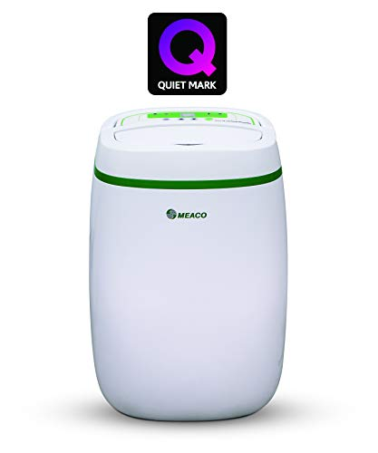 Meaco 12L Low Energy Dehumidifier and Air Purifier for Damp and Condensation in the Home. Cleans Air, helps Allergy Sufferers