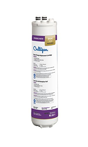 Culligan RC 1 EZ-Change Premium Water Filtration Replacement Cartridge, 3,000 Gallon, Multi