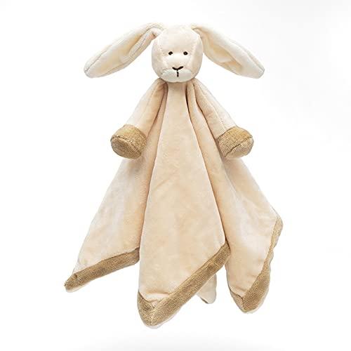Teddykompaniet Båstad Schmusetuch Baby Diinglisar Hase 13722 - Schnuffeltuch Baby 35x35 cm – Baby Kuscheltier ab 0 monate - Schmusetuch Baby Junge und Mädchen