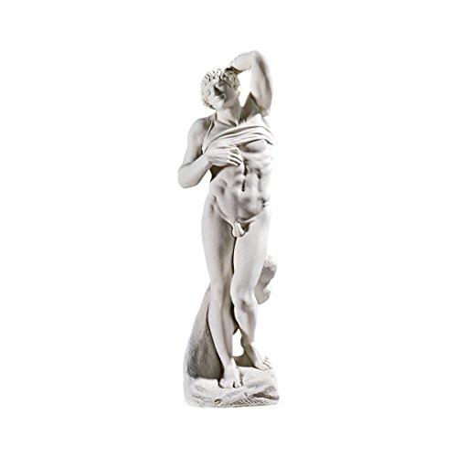 Design Toscano Der sterbende Sklave, 1513, Große Galeriestatue
