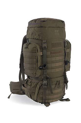 Tasmanian Tiger Raid Pack MKIII 52 Liter Militär Outdoor Rucksack mit abnehmbarem Hüftgurt, Molle System und Trinksystem-Vorbereitung (Oliv)