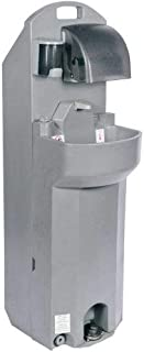 PolyJohn Handstand153; Portable Hand Wash Station On Wheels w/Dispensers - PSW1-1000 (PSW1-1000)