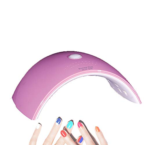 Lampe à ongles LED Kits d'ongles portables Sèche-ongles professionnel pour lampe à ongles pour sèche-ongles professionnel et gel-Lavender