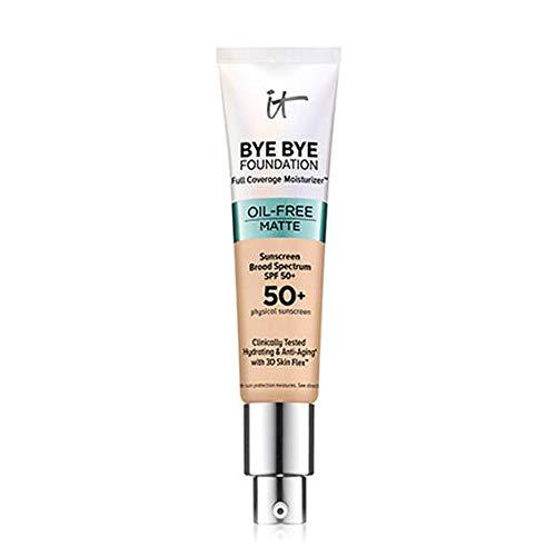 It Cosmetics Bye Bye Foundation Moisturizer Oil-Free Matte SPF 50+ 1 fl. oz. (Fair Light)