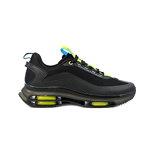 elis ElisForm Sneaker, Zapatillas Hombre (Negro/Neon, Numeric_39)