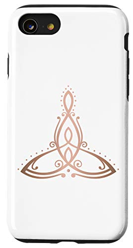 iPhone SE (2020) / 7 / 8 Mothers Day Celtic Knot Symbol mother with two children Case