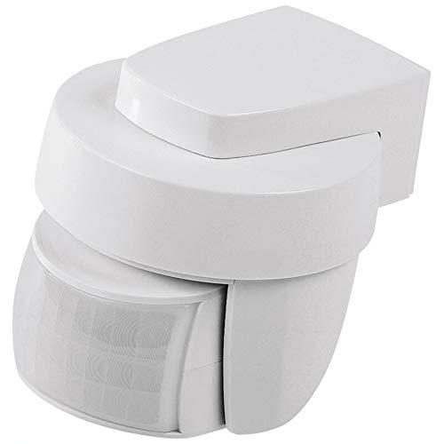 Homematic IP ELV ARR-Bausatz Bewegungsmelder HmIP-SMO mit Dämmerungssensor - außen, weiß