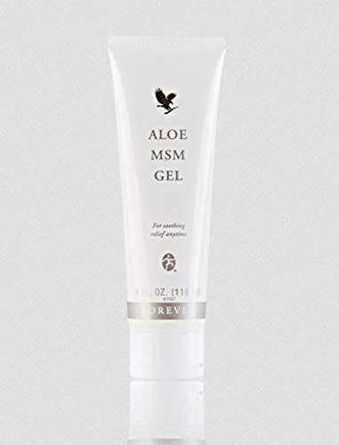 Forever Living - Gel a base di aloe vera e metilsulfonilmetano (MSM), 1 tubetto da 118 ml