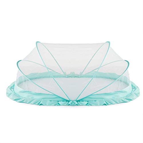 LifeKrafts Foldable Baby Mosquito Net, Bottomless Bed Net for Infants, for Safe & Easy Use   Ensures Your Baby's Safe Sleep