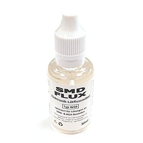 Elektronik-Flussmittel SMD-/BGA-FLUX W03 (3,5% Feststoff) NoClean 30ml -...