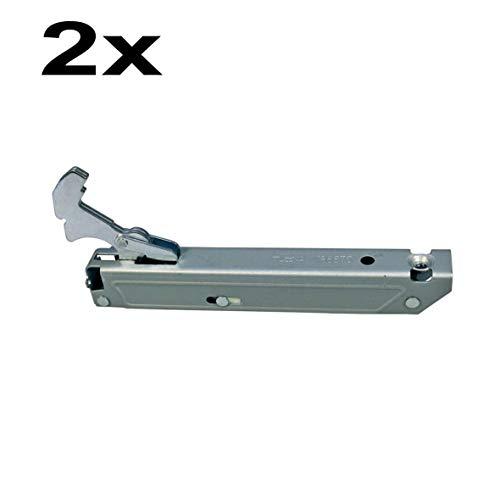 SET 2 Stück Türscharnier Scharnier rechts/links Original Gorenje 109485 Backofen Herd auch Bosch Siemens 00183244