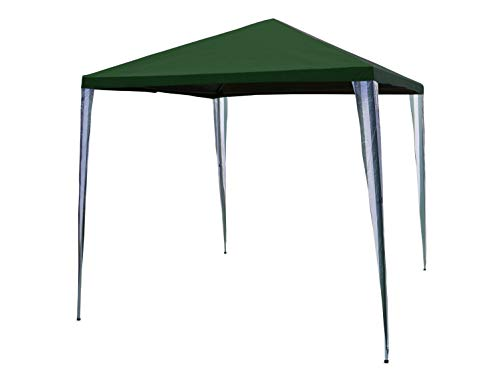 SORARA Party tent - Wit/Groen - 270 x 270 cm