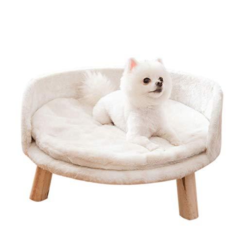 DYWER Sofá para Mascotas Cama para Mascotas Perrera para Perros Y Gatos Casetas para Perros Y Gatos Suministros Cálidos para Mascotas De Otoño E Invierno Todas Las Estaciones 35 * 35 * 30cm