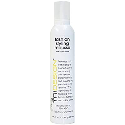 Tri Fashion Styling Mousse, 10 Fluid Ounce