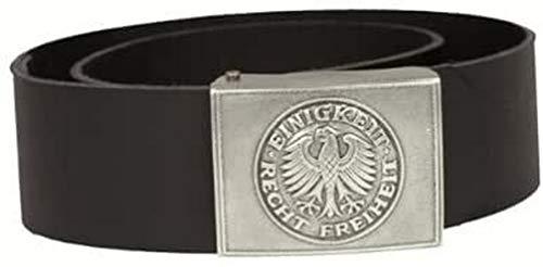 Mil-Tec BW Dienstkoppel Leder mit Schloss Gr.110