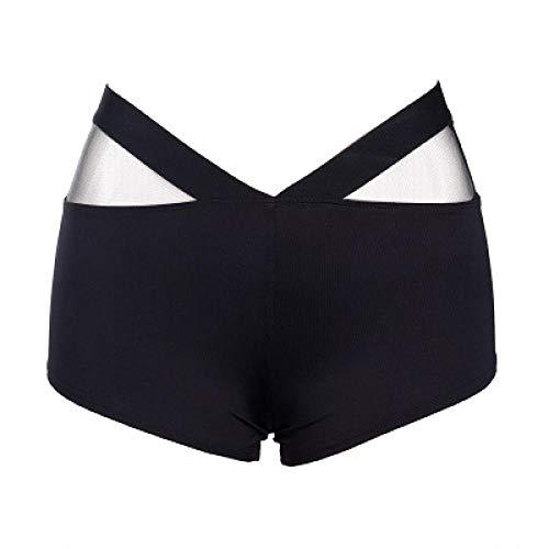 Shorts Mujer Pantalones Cortos Deportivos para Mujer, Cintura Elástica Ajustada De Poliéster, Cintura para Entrenamiento De Gimnasio, Pantal