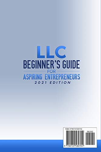 31cczB32jAL. SL500  - LLC Beginner's Guide for Aspiring Entrepreneurs: How to Start a Small Business, Form and Run a Limited Liability Company Dealing with Accounting and any Tax Brake the IRS allows