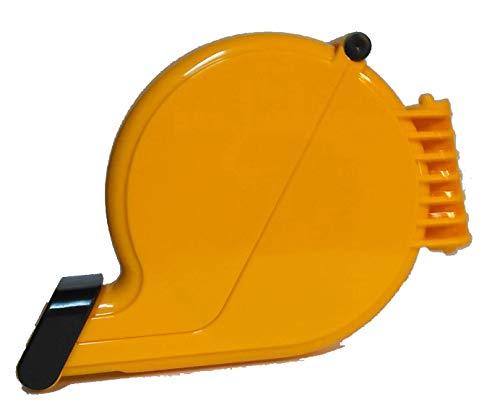 Dispenser ticket eliminacode chiocciola giallo dispenser etichette numerate coda rondine