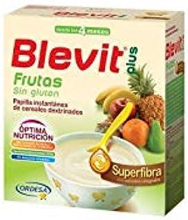 Blevit Plus Superfibra Frutas Cereales - Paquete de 2 x 300