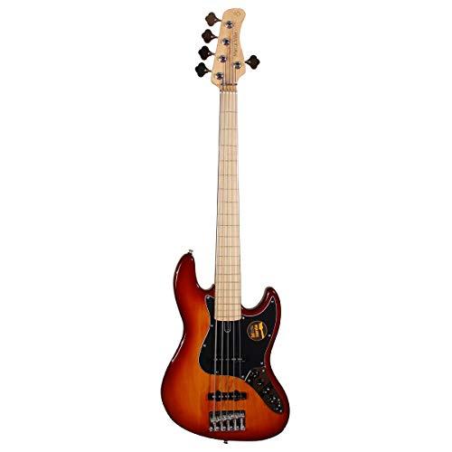 Sire Marcus Miller V7 Vintage Alder-5 FL (2. Gen) TS Bass Fretless Tobacco Sunburst
