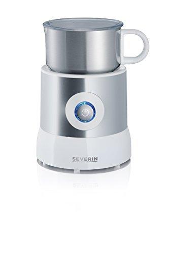 Severin Induction Melkopschuimer met capaciteit 500 ml en met 500 W vermogen SM 9684, Zilver-Wit