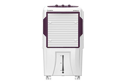 Crompton Optimus 65-Litre Inverter Compatible and Portable Desert Air Cooler with Wide Angle Air...