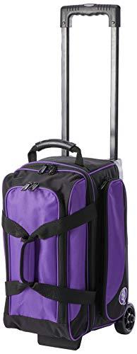 Ebonite Unisex Transport II Doppelrollo Rollo Bowling Tasche, lila, one Size