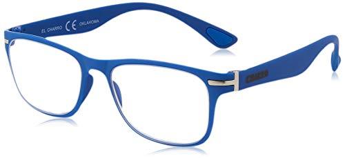 El Charro Occhiali da Lettura Modello Oklahoma Blu, Diottria +2.5-1 Prodotto