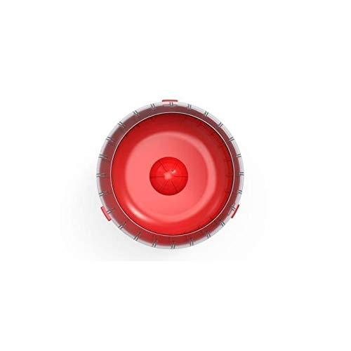 Zolux Rody3 Roue d'exercice silencieuse pour Petits rongeurs, tels Que Hamsters, gerbilles, Lapins, Convient à Toutes Les Cages, Rouge Grenade