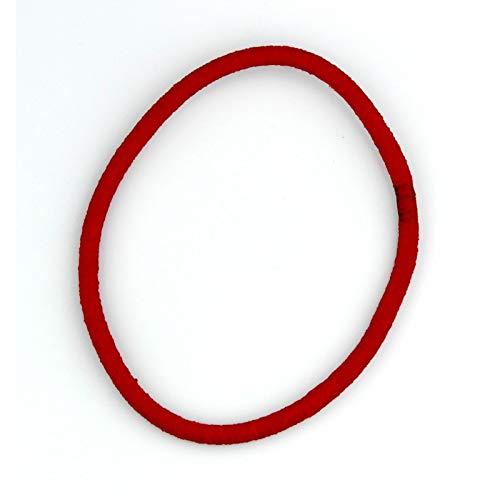 La Canilla ® - Correa elástica Universal para motor de máquina de coser Alfa, Singer, Sigma, Refrey (Rojo)