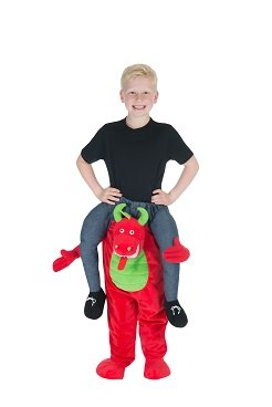 Monster Jam Drachen Huckepack Trag Mich Kinder Kostüm