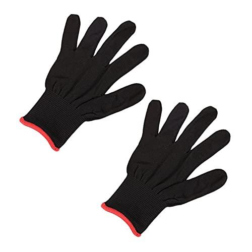2 guantes antideslizantes de nailon para guitarra, bajo o instrumentos