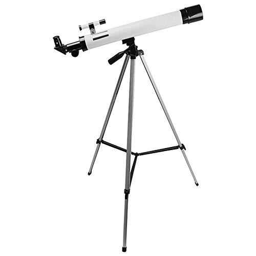 WNN-URG Telescopio, Monte astronómico del telescopio Refractor Ajustables telescopios portátil de Viaje con Mochila, Adaptador de teléfono URG