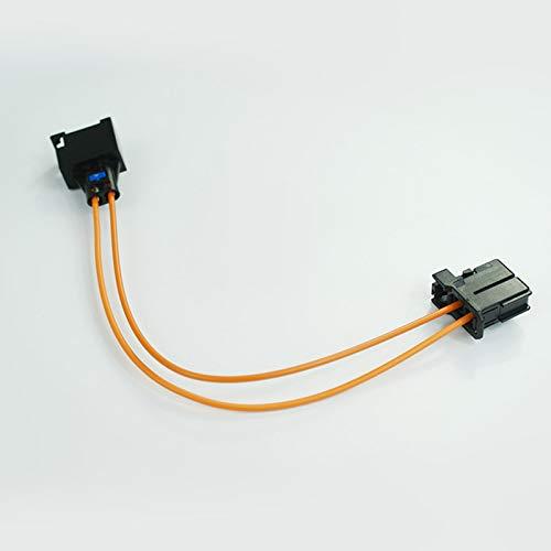 wroadavee Connecteur de câble fibre optique mâle vers femelle de 50 cm.