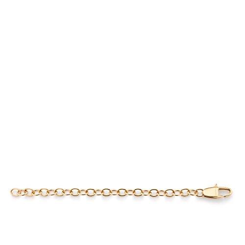 JEWELS BY LEONARDO Damen Verlängerungskette 10 cm Edelstahl/gold Karabinerverschluss 040951
