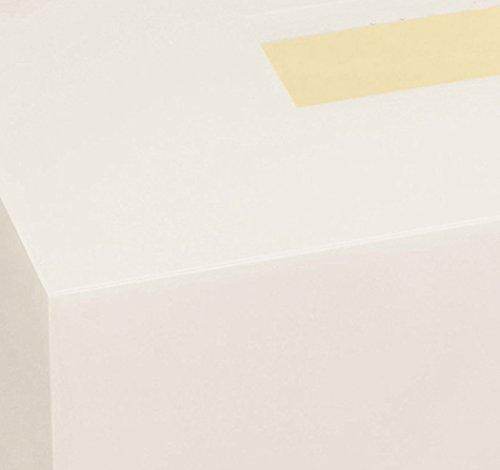 橋本達之助工芸 ティッシュボックス カラー ホワイト 1コ入