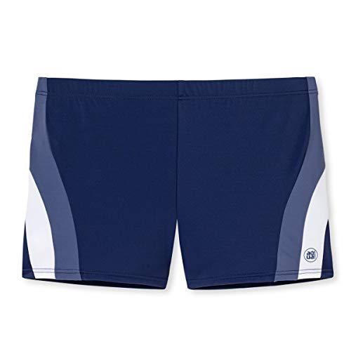 Schiesser Herren Bade-Retro Shorts, Blau (Navy 815), XX-Large (Herstellergröße: 008)
