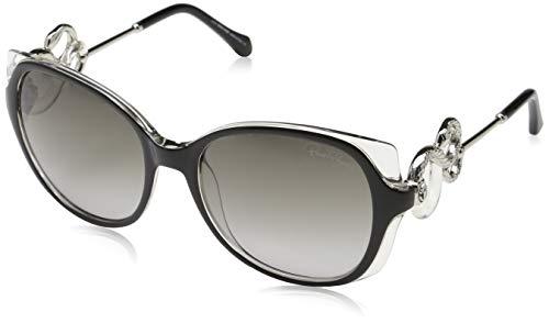 Roberto Cavalli Sunglasses Rc1035 01b 56 Gafas de sol, Azul (Blau), 56.0 para Mujer