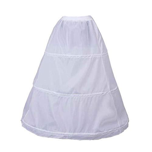 JERKKY onderjurk 1 stuk 3 cirkels elastische taille pettiskirt bruidsjurk rok voering dames baljurk prom kostuum