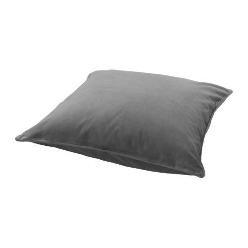 IKEA SANELA Kissenbezug in grau; 100% Baumwolle; (65x65cm)