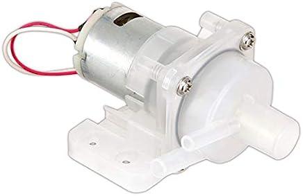 WITTKOWARE - Mini bomba de agua (12 V, 0,15 A, 80 l/h)